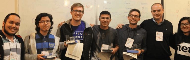 Aluno de engenharia elétrica vence HackatonUSP 2017
