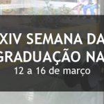 Começa na próxima segunda-feira a XIV Semana da Pós-Graduação na EESC
