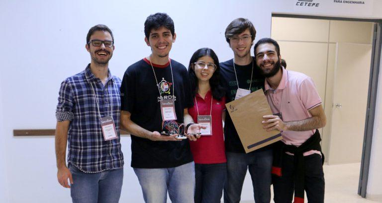 Grupo de cinco estudantes da USP foi o vencedor da 1ª SancaThon