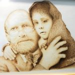 Personagens que marcaram a história são retratados em mostra de pinturas