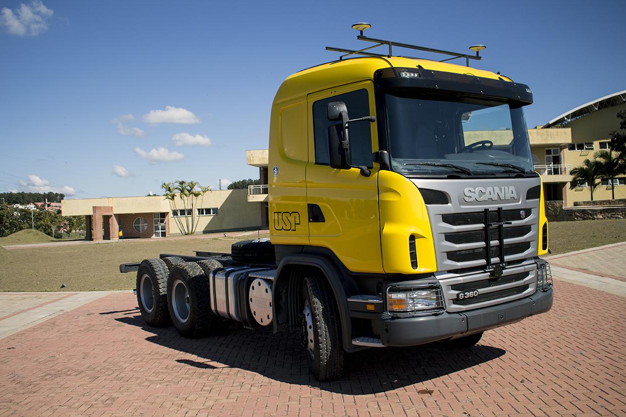 Pesquisa quer aumentar eficiência de caminhões autônomos