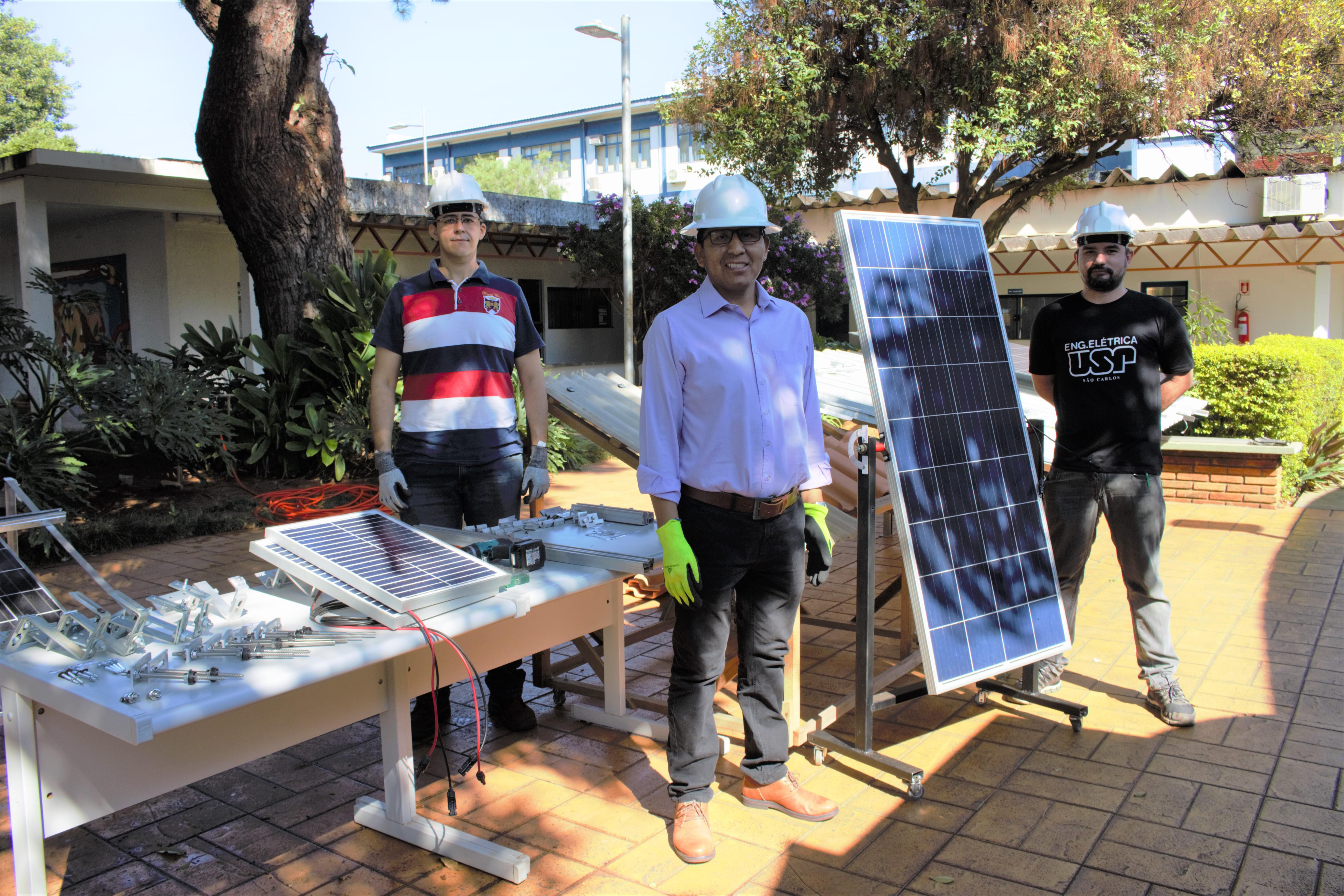 Curso online sobre projetos e instalação de painéis solares