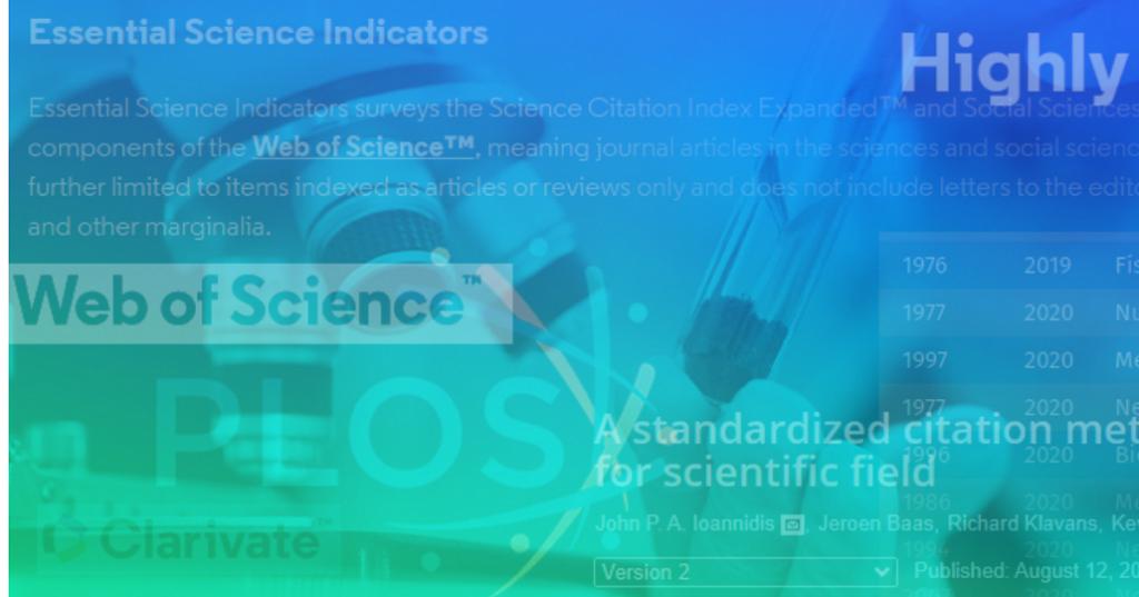 Professores da EESC estão no ranking dos pesquisadores mais influentes do mundo
